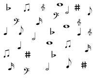 musique de fond Image libre de droits