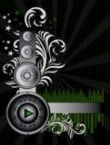 musique de fond Photographie stock libre de droits