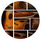 Musique de guitare Photographie stock libre de droits