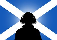 Musique de l'Ecosse Images libres de droits