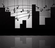 Musique de la ville illustration libre de droits