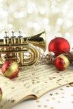 Musique de Noël photos libres de droits