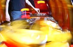 Musique de panneau du DJ Photos stock