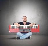 Musique de piano Images stock