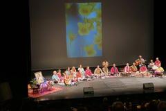 Musique de yoga de Sahaja de Joy Meditation et de concert de musique Images libres de droits