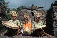 Musique en bambou Image libre de droits
