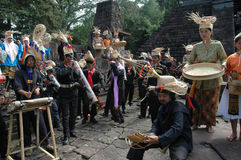 Musique en bambou Images libres de droits