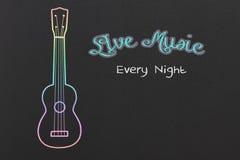 Musique en direct Image libre de droits