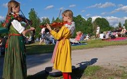 Musique en Suède photos stock