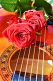 Musique et amour Photographie stock