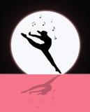 Musique et danse dans le clair de lune Photos stock