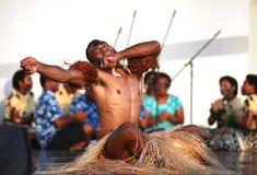 Musique et danse du Fiji Images libres de droits