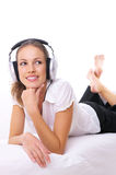 Musique et moi Photos libres de droits