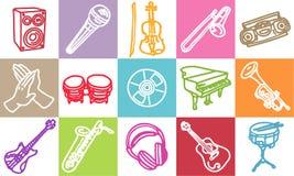 Musique et son Photos stock