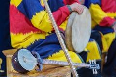 Musique folk d'Ouzbékistan image stock