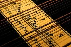 Musique-instrument Images libres de droits