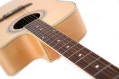Musique pour la guitare Photographie stock libre de droits
