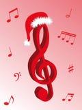 Musique pour Noël Image libre de droits
