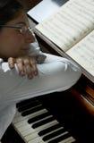 Musique rêveuse Photo stock
