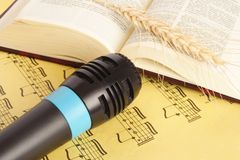 Musique religieuse Photos libres de droits
