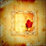 Musique romantique de carte de vintage Photos libres de droits