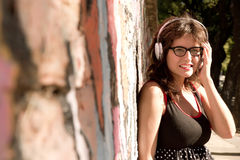 Musique urbaine Photo libre de droits