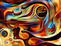 Musique virtuelle Images libres de droits