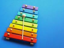 Musique - xylophone Photographie stock libre de droits