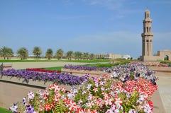 Muskatellertraube, Oman - Sultan Qaboos großartige Moschee Lizenzfreie Stockfotografie