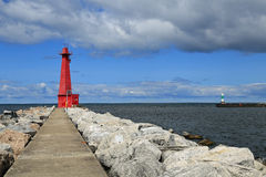 Muskegon Lighthouse Royalty Free Stock Images