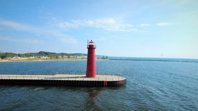 Free Muskegon Michigan Pier Head Light Royalty Free Stock Images - 157877329