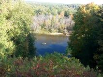 Muskegon rzeka Obraz Royalty Free
