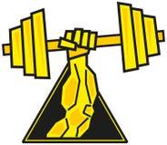 Muskel stock abbildung