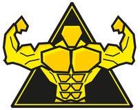 Muskel vektor abbildung