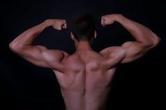 muskel arkivbild