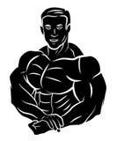 Muskel-Körper lizenzfreie abbildung