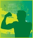 Muskel-Mann Lizenzfreie Stockfotos
