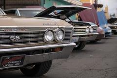 Muskel och Chrome Car Show royaltyfria foton