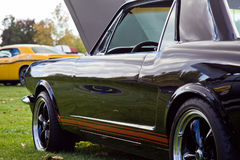 Muskelbil på Car Show Royaltyfria Bilder