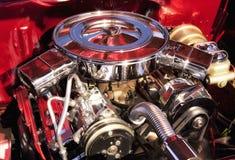 Muskelbilmotor royaltyfri foto