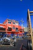 Muskelstrand, Venedig, Kalifornien Fotografering för Bildbyråer