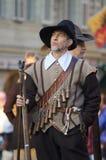 Musketör på Carnaval av Escalade Royaltyfria Bilder