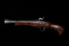 Musket. Old weapone Stock Photo