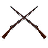 Musket. Springfield Trapdoor Rifle 1988 Royalty Free Stock Photography