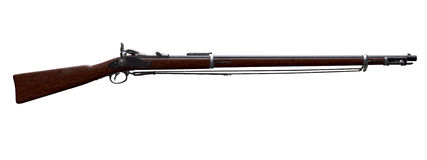 Musket. Springfield Trapdoor Rifle 1988 Royalty Free Stock Photos