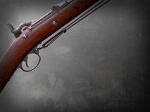 Musket. Springfield Trapdoor Rifle gun Stock Photography