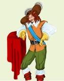 musketeer Royaltyfria Bilder