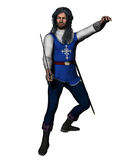 Musketeer en garde Royalty Free Stock Photography