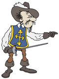 Musketeer Stock Images