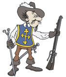 Musketeer Royalty Free Stock Images